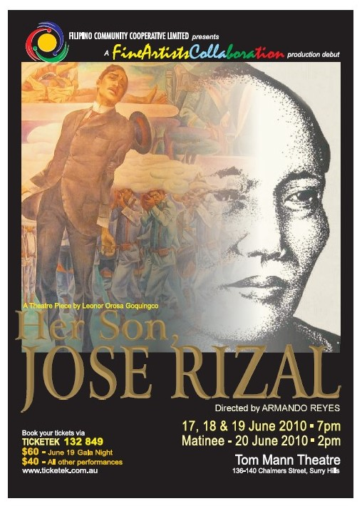 Her Son, Jose Rizal - June 2010